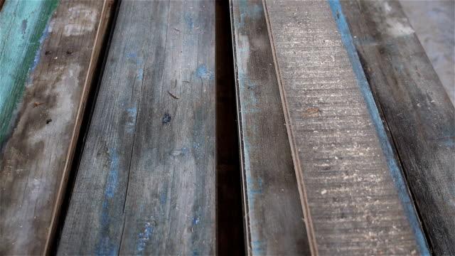 Wood planks video