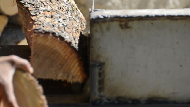 wood saw video