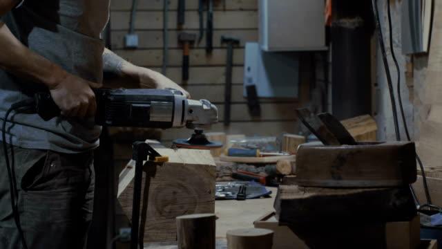 Wood workshop video