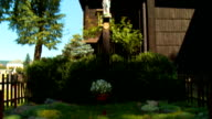 Wooden church - slavic architecture video