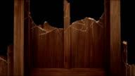 Wooden panel break down 1 video