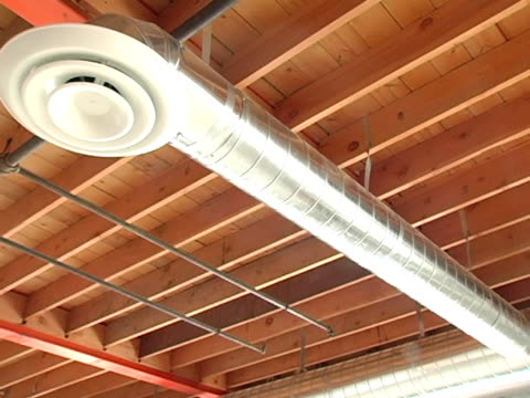 Wooden rafters video