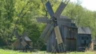 Wooden Vintage Windmills video