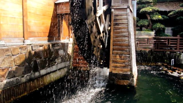 Wooden Water Wheel video