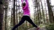 Woodland Yoga video