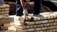 Work bricklayer video