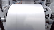 Work cycle of industrial extrusion equipment video