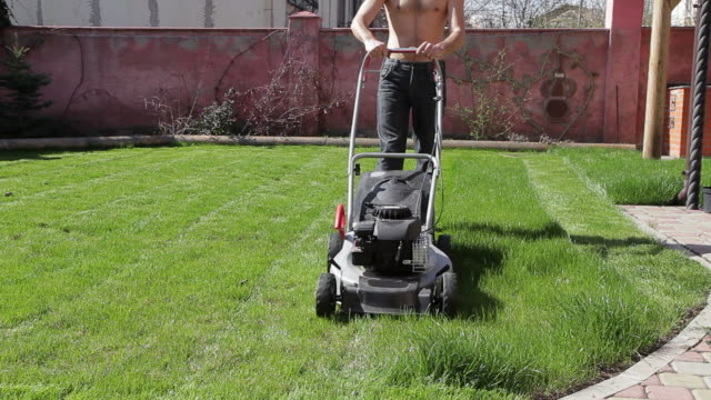 Work on the lawn video