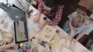 Workday at Handmade Toy Studio video