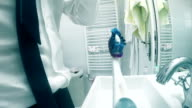 Workday morning - Perspective toothbrushes video