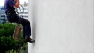 Worker climber video
