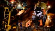 workermen work with Concrete truck video