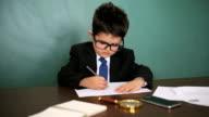 Working businessman video