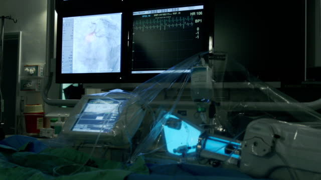 Working equipment in operating room video