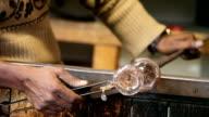 Working Glass In Murano, Italy video