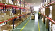 Working In The Warehouse video