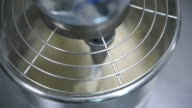 working kneading machine dough making video