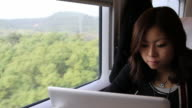 Working on Train video