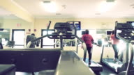 Working Out In Gym video