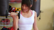 Working Out video