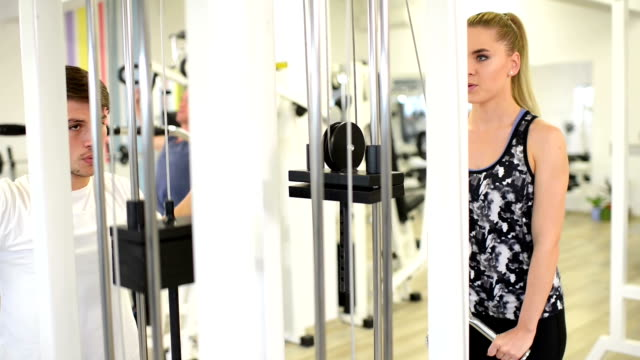 Workout at Gym video