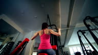 Workout at the gym video