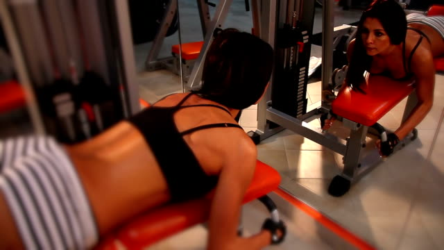 Workout on exercise machine - Prone leg curl video
