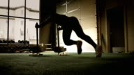 HD: Workout - Weight Push Left video