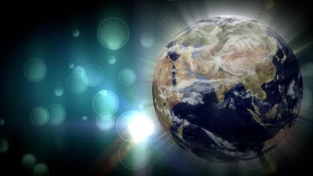 world defocused background loopable video