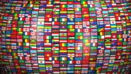 (Loop) World Flags video