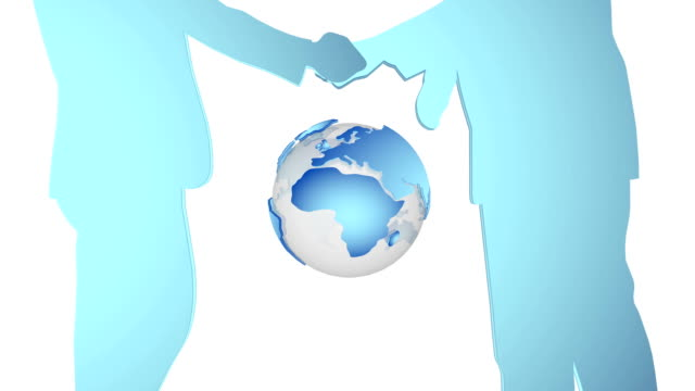 World globalized concept. video