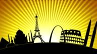 World Landmarks 1 video
