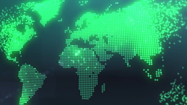 World map video