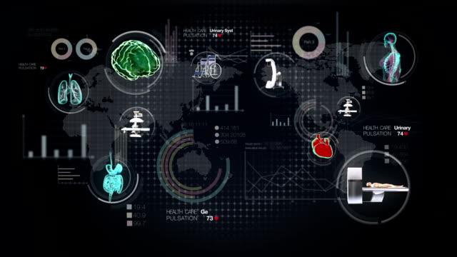 World Medical health care service in the world. Remote Telemedicine. video