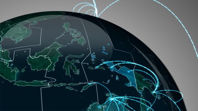 World network loop video