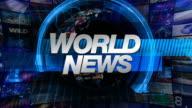 World News - Broadcast Graphics Title video