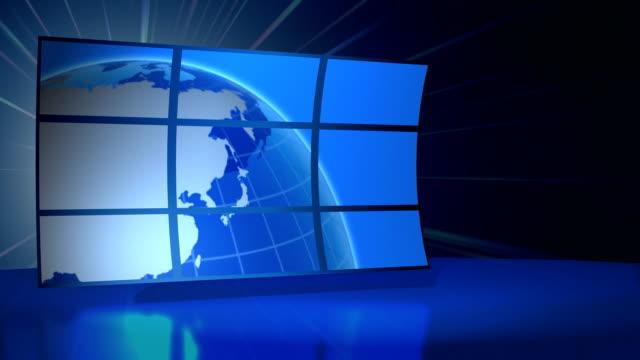 World News studio video