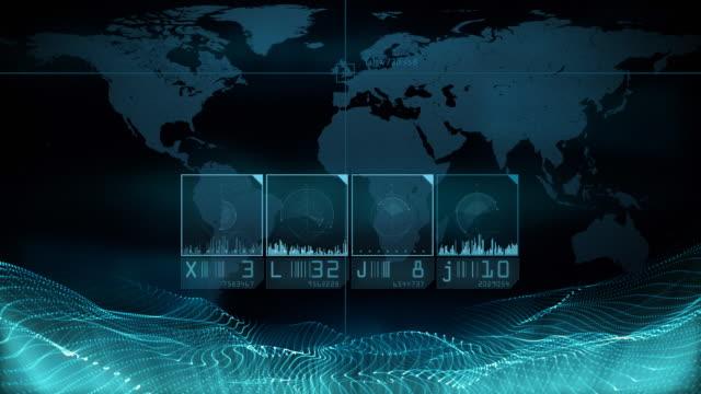 World scanning. Loop video