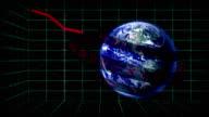 World stock markets declining video