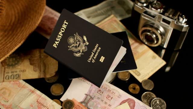 World Travel Passport Spin RAMP video