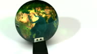 World USB Connection 3D Animation video