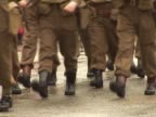 World War one Soldiers Marching 2 - PAL video