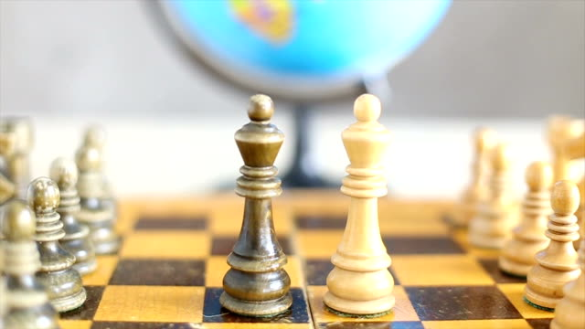 World war. The concept of chess video