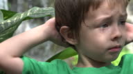 Worried And Impatient  Toddler Boy video