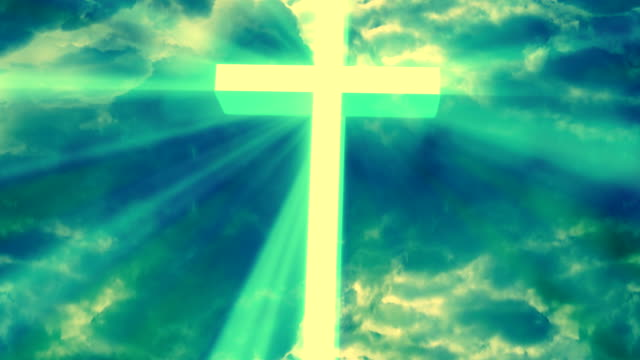 Worship Religious God Rays 1 Loopable Background video