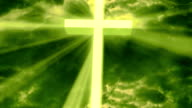 Worship Religious God Rays 2 Loopable Background video