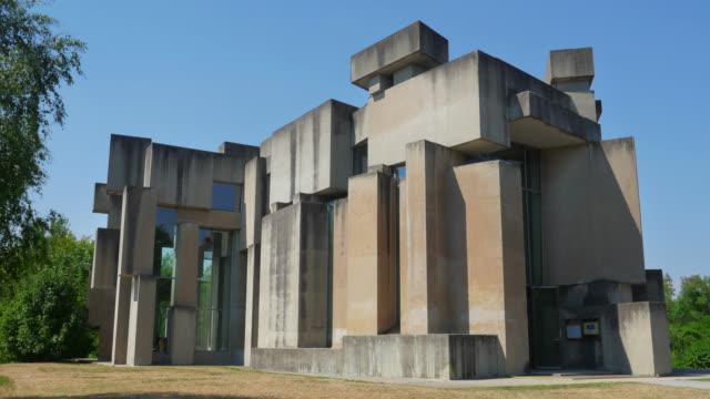 wotruba church, vienna, austria, unconventional building video