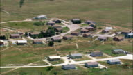 Wounded Knee  - Aerial View - South Dakota, Shannon County, United States video