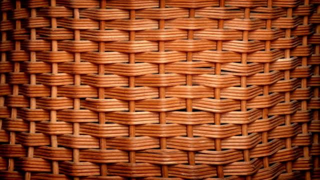 Woven Basket Rotating video
