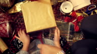 Wrapping and Decorating Christmas Presents video